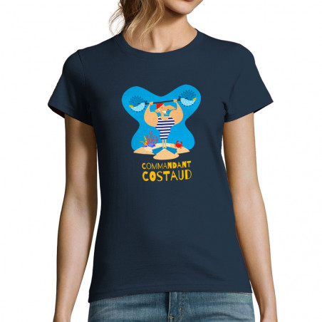 "T-shirt femme ""Commandant..."