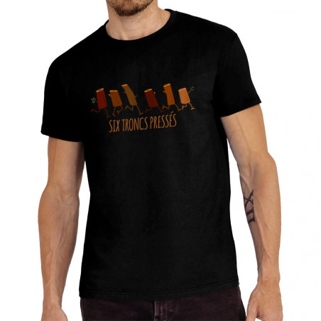 "Tee-shirt homme ""Six troncs..."