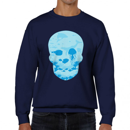 "Sweat homme col rond ""Sea..."