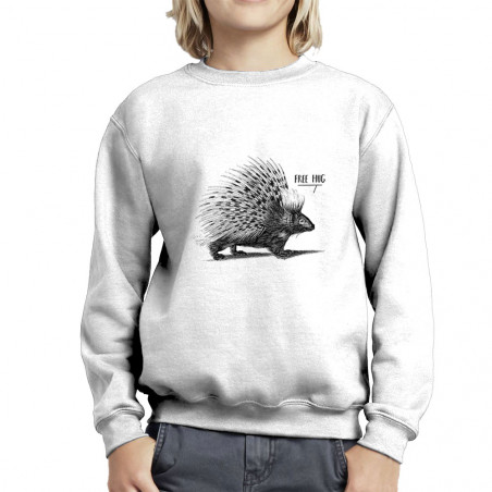 "Sweat enfant col rond ""Free..."
