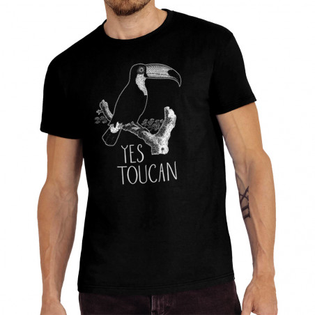 """Tee-shirt homme """"Yes Toucan """""""