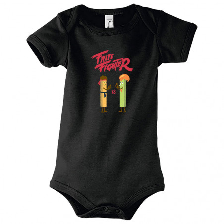 "Body bébé ""Frite Fighter"""