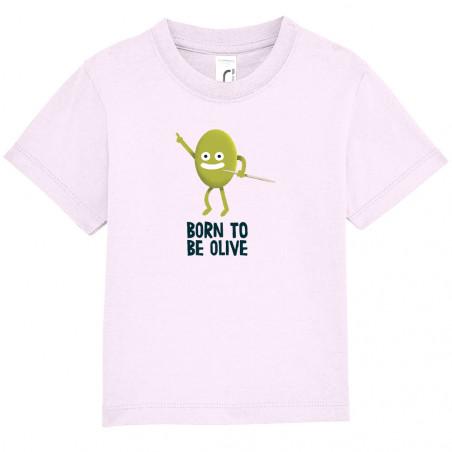 """Tee-shirt bébé """"Born To Be..."""