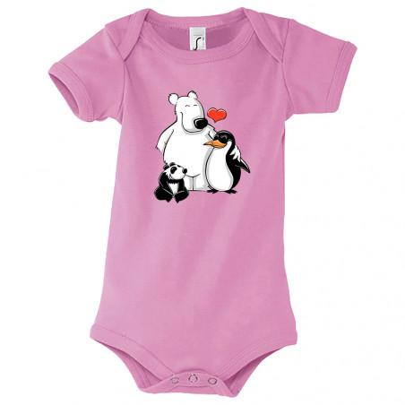 """Body bébé """"Petit Panda"""""""