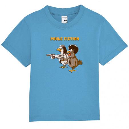 """Tee-shirt bébé """"Poule Fiction"""""""