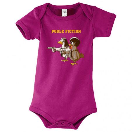 """Body bébé """"Poule Fiction"""""""