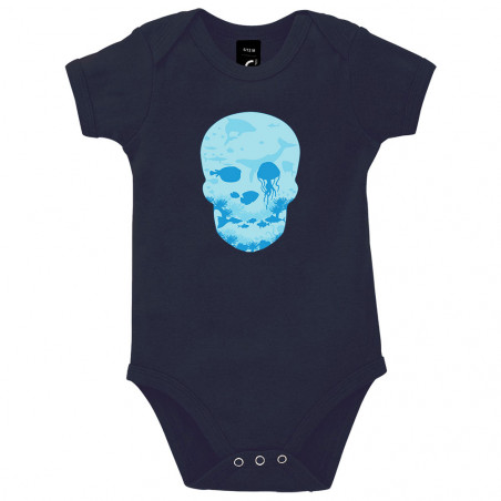 "Body bébé ""Sea Skull"""