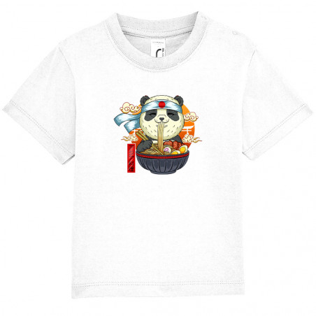 "Tee-shirt bébé ""Asian Food..."