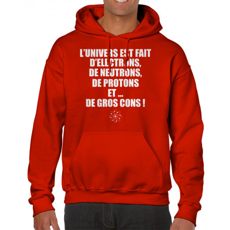 Sweat homme à capuche...