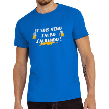 """Tee-shirt homme """"Je suis..."""