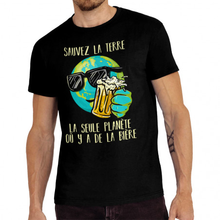 """Tee-shirt homme """"Sauvez la..."""