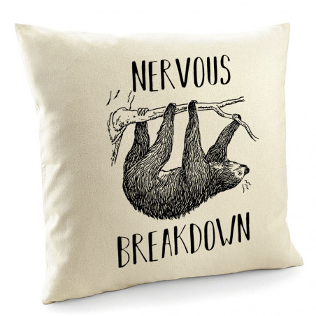 "Coussin ""Nervous Breakdown..."