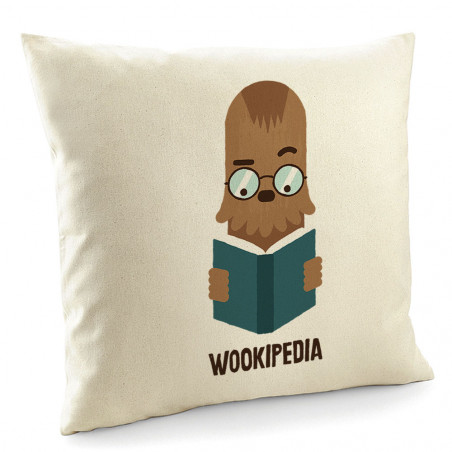 "Coussin ""Wookipedia"""