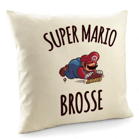 """Coussin """"Super Mario brosse"""""""