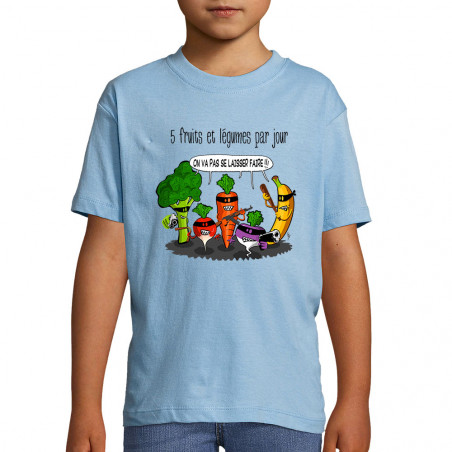 "Tee-shirt enfant ""5 fruits..."