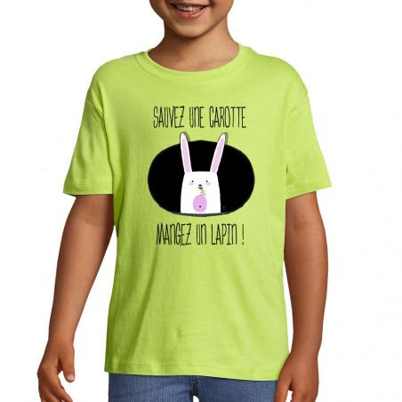 """Tee-shirt enfant """"Sauvez..."""