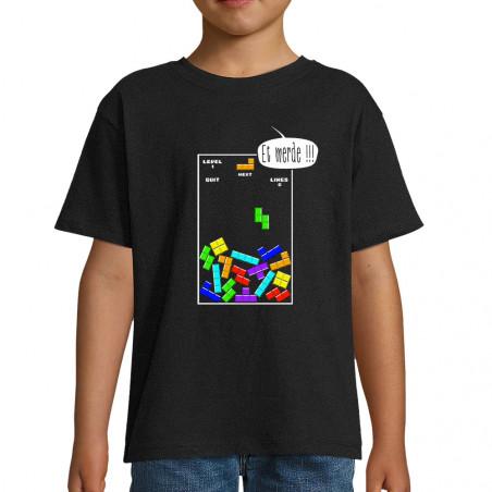 """Tee-shirt enfant """"Tetris Et..."""