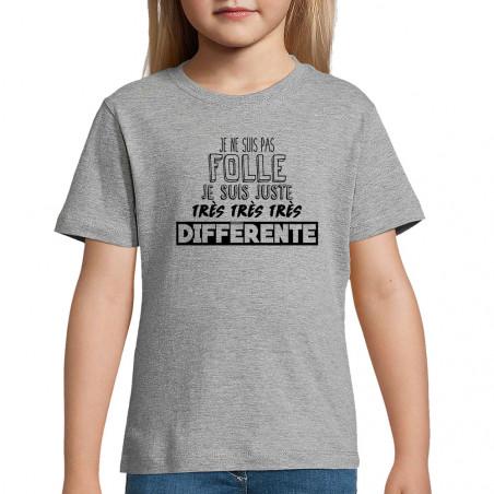 """Tee-shirt enfant """"Je ne..."""