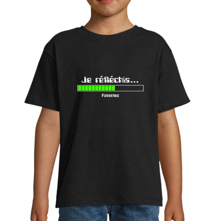 "Tee-shirt enfant ""Je..."