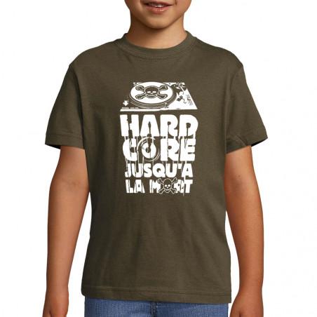 "Tee-shirt enfant ""Hardcore..."