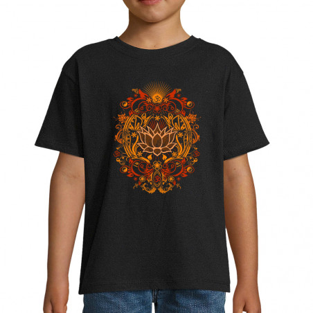 "Tee-shirt enfant ""Lotus..."