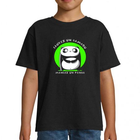 """Tee-shirt enfant """"Sauvez un..."""