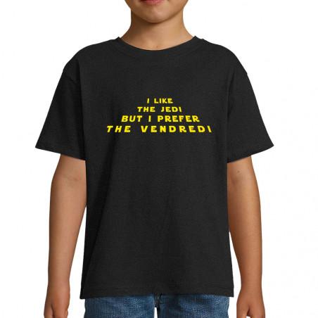"""Tee-shirt enfant """"I like..."""