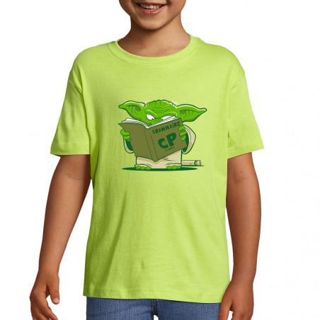 "Tee-shirt enfant ""Grammaire"""