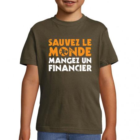 """Tee-shirt enfant """"Sauvez le..."""