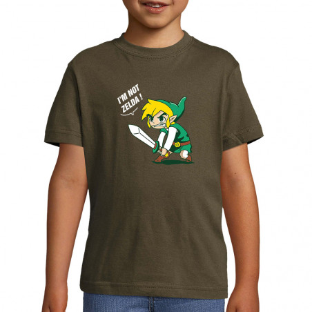 "Tee-shirt enfant ""I 'm not..."