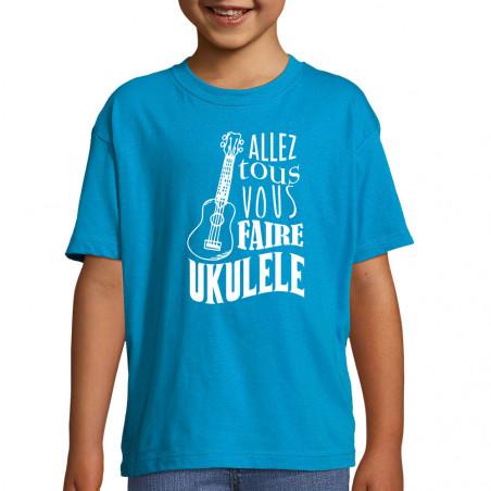 """Tee-shirt enfant """"Allez..."""