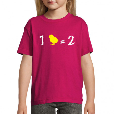 "Tee-shirt enfant ""1 poussin..."