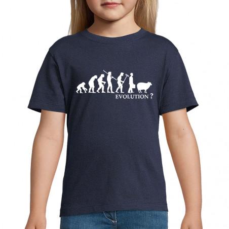 "Tee-shirt enfant ""Evolution..."
