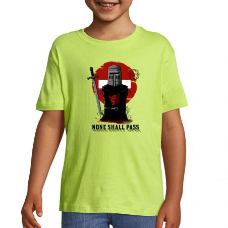 "Tee-shirt enfant ""None..."