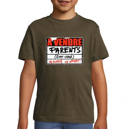 """Tee-shirt enfant """"A vendre..."""