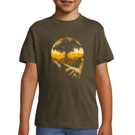 """Tee-shirt enfant """"Aide la..."""