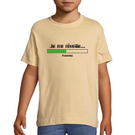 "Tee-shirt enfant ""Je me..."