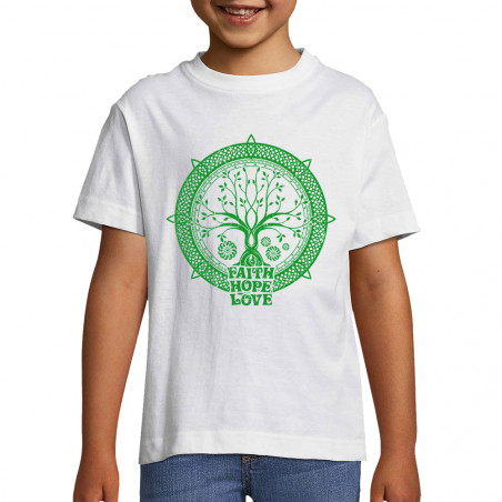 "Tee-shirt enfant ""Faith..."