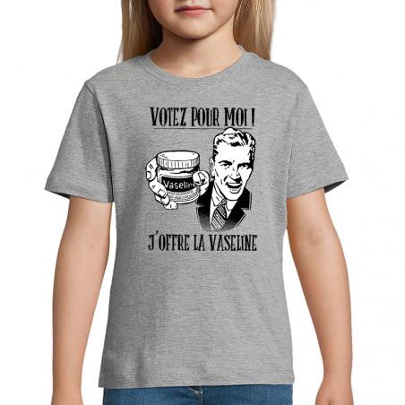 "Tee-shirt enfant ""Votez..."