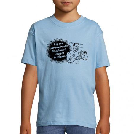 "Tee-shirt enfant ""Trop con..."