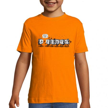 """Tee-shirt enfant """"Azerty"""""""