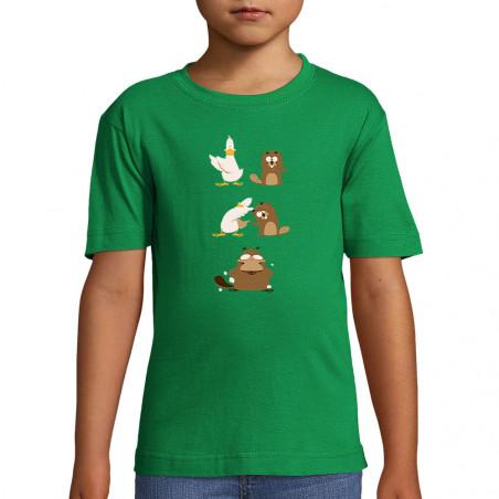 "Tee-shirt enfant ""Fusion"""