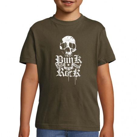 "Tee-shirt enfant ""Punk Rock..."