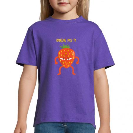 "Tee-shirt enfant ""Ramène..."
