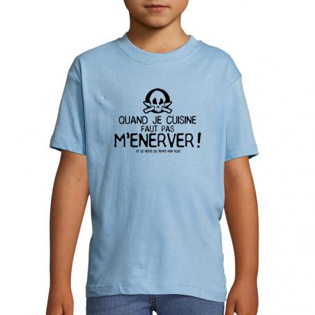 "Tee-shirt enfant ""Quand je..."