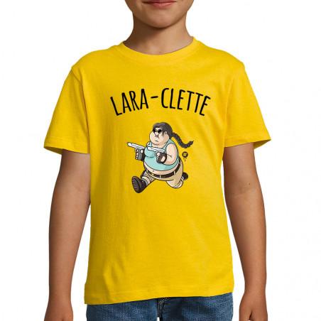 "Tee-shirt enfant ""Lara-Clette"""