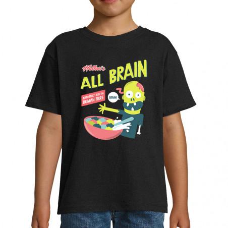"""Tee-shirt enfant """"All Brain"""""""