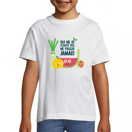 """Tee-shirt enfant """"Qui ne..."""