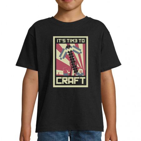 "Tee-shirt enfant ""It's Time..."