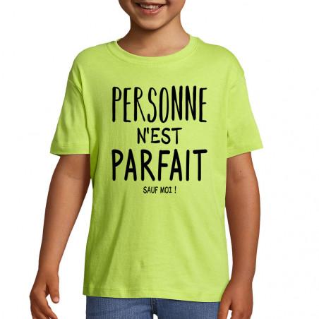 "Tee-shirt enfant ""Personne..."